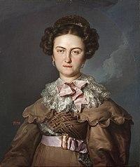 La reina María Josefa Amalia de Sajonia (Museo del Prado).jpg