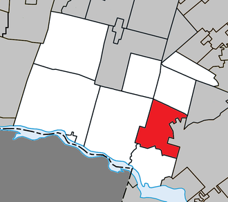 Lachute - Image: Lachute Quebec location diagram