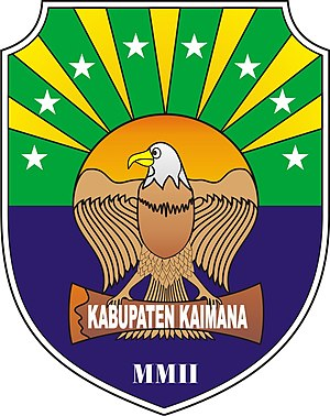 Kaimana Regency - Image: Lambang Kabupaten Kaimana