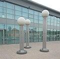 Lamp posts, City Stadium, 2018 Mezőkövesd.jpg
