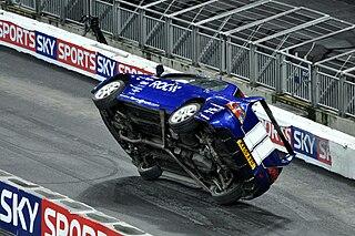 Ski (driving stunt) driving stunt