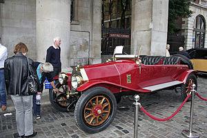 Lancia Theta - Lancia Theta Torpedo 1917