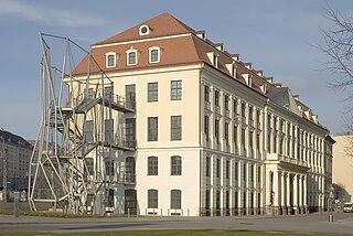 Dresden City Art Gallery museum in Germany