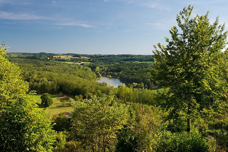 Landscape château Hautefort 32