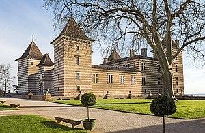 Haute-Garonne - Image: Laréole Le chateau Façade Nord Ouest