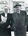 Lars Ridderstedt & Gustaf VI Adolf of Sweden 1962.jpg