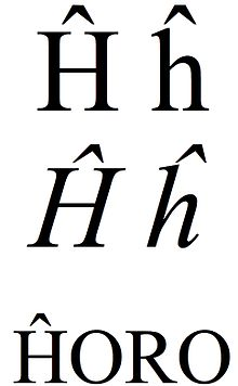 Latin small and capital letter h with circumflex.jpg