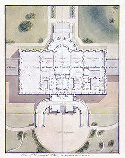 White House architectural plans