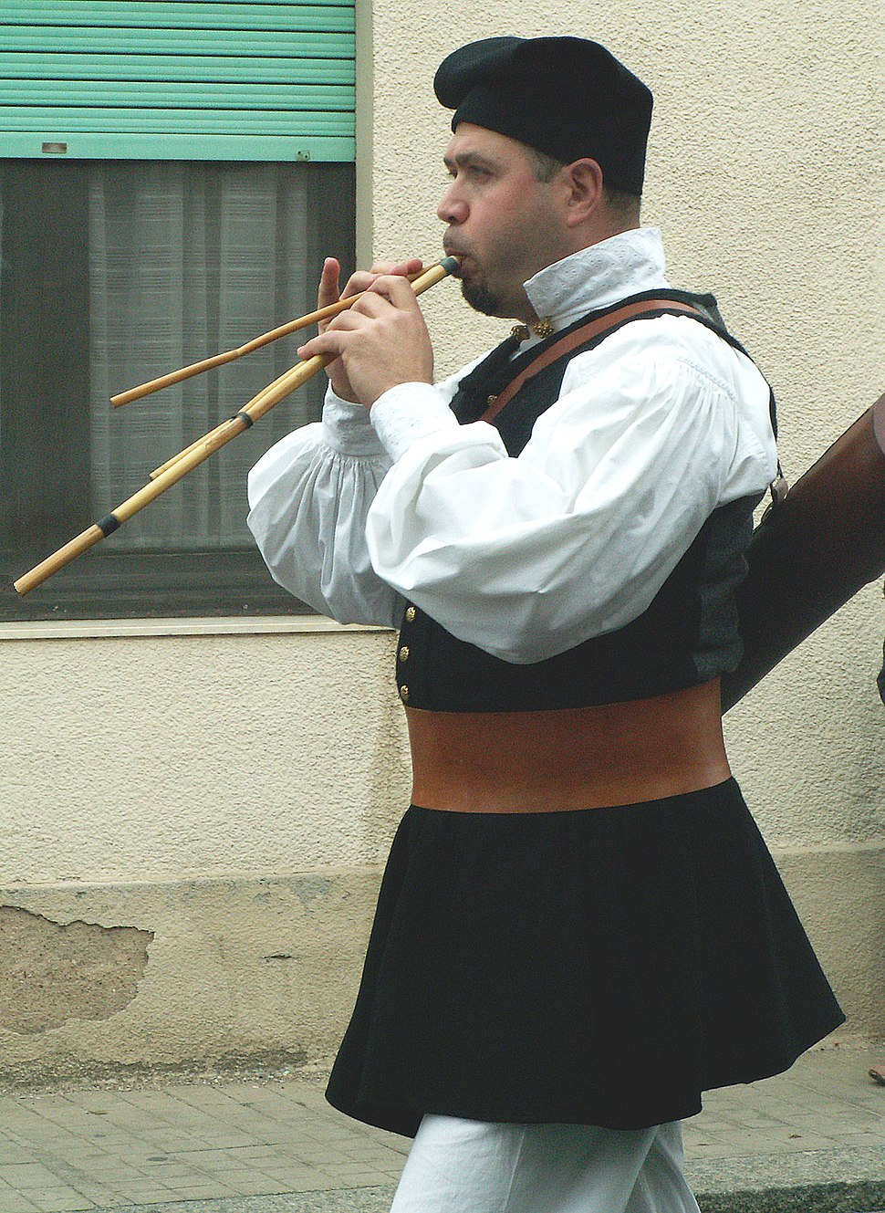 Launeddas Player