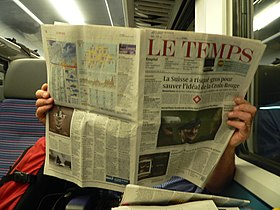 Image illustrative de l'article Le Temps (quotidien suisse)