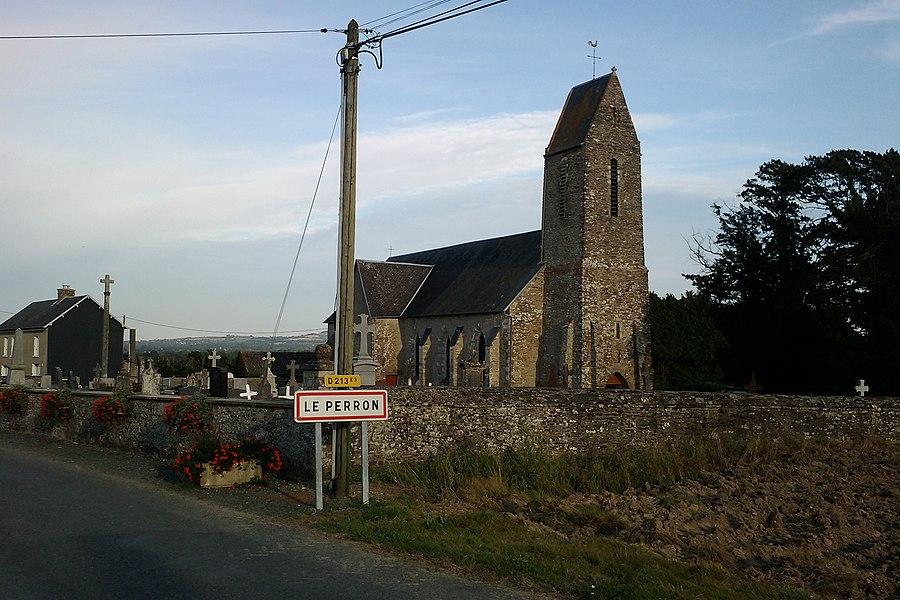 Fr:Le Perron et son église