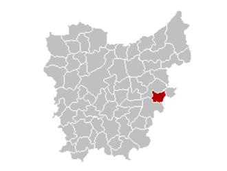 Lebbeke - Image: Lebbeke Locatie (1)