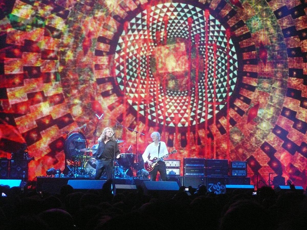 Led Zeppelin Celebration Day 10 dicembre 2007 presso l'O2 ...
