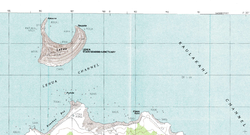Karte: Lehua nördlich von Niihau