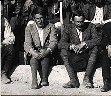 Leonard Woolley (right) and T.E.Lawrence at the British Museum's Excavations at Carchemish, Syria, in the spring of 1912.jpg