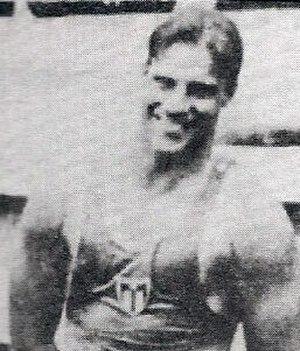 "Leonel ""Bebito"" Smith - Taken at the Central American Games in Mexico in 1926"