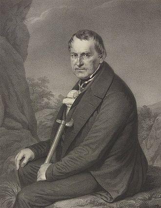 Christian Leopold von Buch - Christian Leopold von Buch, by Carl Joseph Begas (1850)