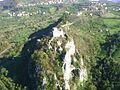 Let vrtulnikem10 - hrad a ves Srebrenik zvrchu.jpg