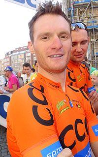 Grega Bole Slovenian road bicycle racer