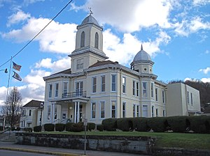 Lewis County, West Virginia - Image: Lewis County Courthouse Weston