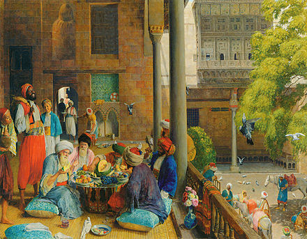 John Frederick Lewis, The midday meal, Cairo Lewis midday-meal.jpg