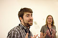 Liam Wyatt at Wikimania 2015 Reception at Museo Soumaya.jpg