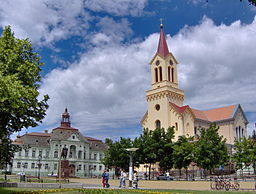 Liberty square, Zrenjanin
