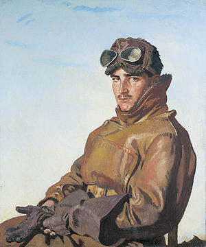Reginald Hoidge - Lieut R. T. C. Hoidge (William Orpen, 1917)