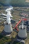Lignittüzelésű hőerőmű (Visonta), légi felvétel.jpg