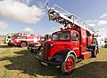 Line up of Fire engines, Gloucestershire Steam & Vintage Extravaganza 2013.jpg