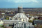 Liverpool Metropolitan Cathedral from St John's Beacon 2.jpg