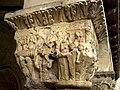 Lizarra - Sant Pere de la Rúa - Claustre - Capitell.JPG