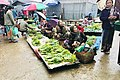 Locally harvested fresh vegetables sold at Mong Yawng Market in early monrning of 2016 December.jpg