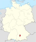 Locator map AIC in Germany.svg