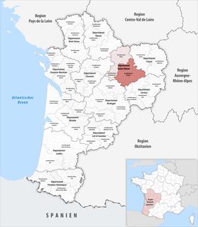 Arrondissement of Limoges Arrondissement in Nouvelle-Aquitaine, France