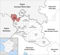 Locator map of Kanton Bollène.png