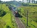 Locomotiva do comboio que passava sentido Boa Vista na Variante Boa Vista-Guaianã km 193 em Itu - panoramio.jpg