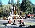 Logging equipment at Camp 18 - Elsie, Oregon.jpg