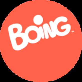 Boing (Italy) - Image: Logo Boing