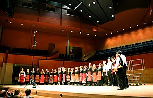 Bulgarians in the United Kingdom - The London Bulgarian Choir on stage