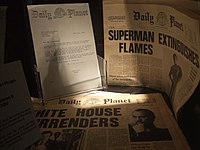London Film Museum - Superman Daily Planet (5755428932).jpg
