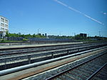 Looking out the left window on a trip from Union to Pearson, 2015 06 06 A (412) (18645066411).jpg