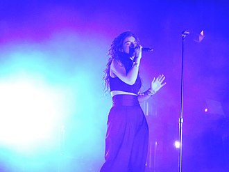 NME Album of the Year - Lorde won the 2017 Album of the Year award for her album Melodrama