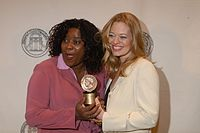 Loretta Devine and Jeri Ryan, May 2003 (2).jpg