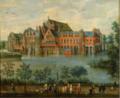 Los archiduques Isabel Clara Eugenia y Alberto en el Palacio de Tervuren, en Bruselas (Jan Brueghel I).PNG