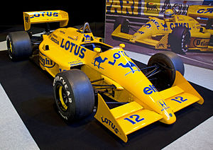 Lotus 99T - Image: Lotus 99T front right 2012 Autosport International