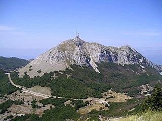 Lovćen mountain range