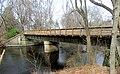 Lower Falls Branch pedestrian bridge, April 2016.jpg