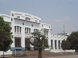 Lubumbashi - Lubumbashi: 1920s Palace of Justice