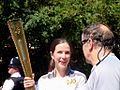 Lucy Caslon carrying 2012 Olympics torch.jpg